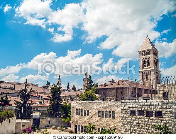 Jerusalem Old City - csp15309196