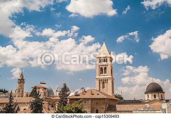 Jerusalem Old City - csp15309493