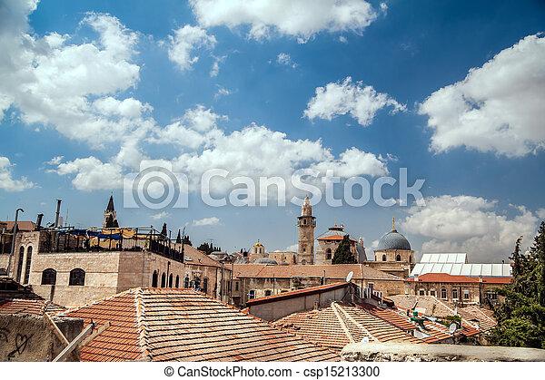 Jerusalem Old City - csp15213300