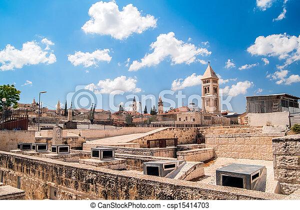 Jerusalem Old City - csp15414703