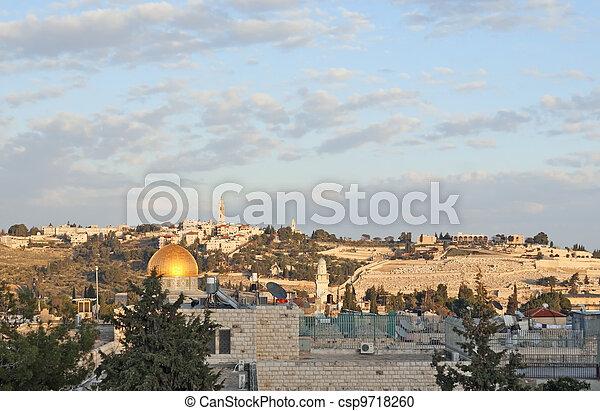 Jerusalem old city - csp9718260