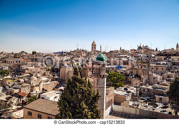 Jerusalem Old City - csp15213833
