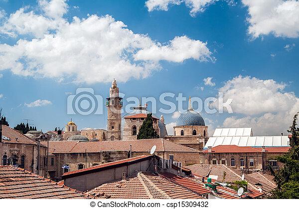 Jerusalem Old City - csp15309432
