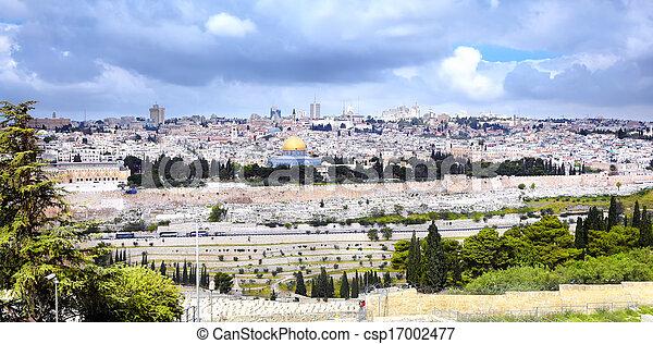 Jerusalem - csp17002477
