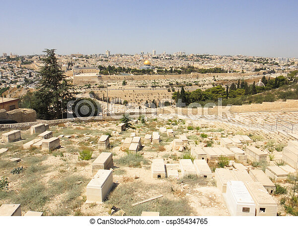 Jerusalem - csp35434765