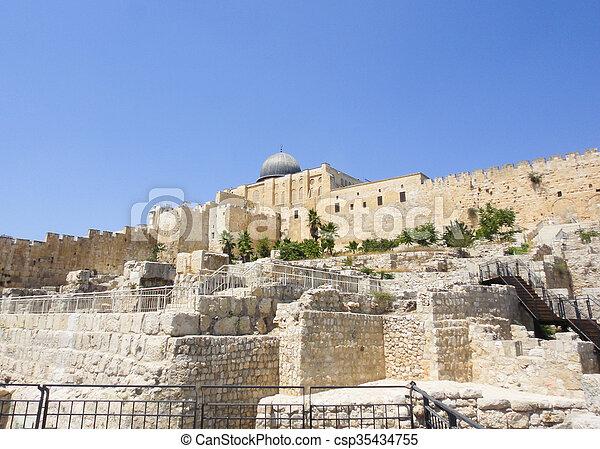Jerusalem - csp35434755