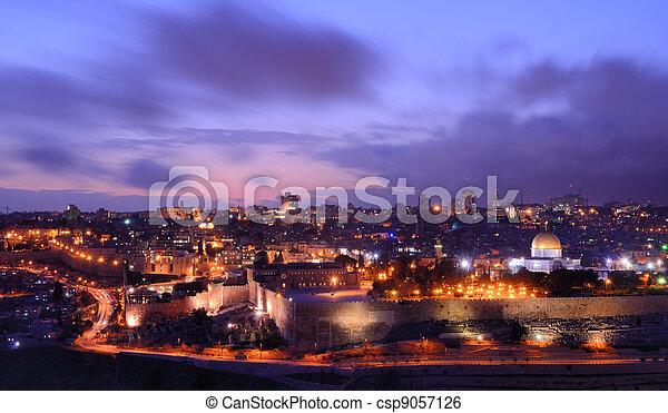 Jeruslaem - csp9057126