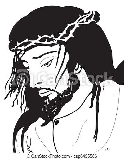 Jesus Christ - csp6435586