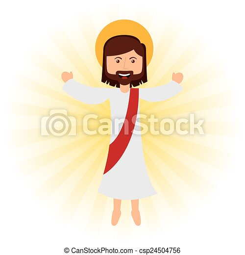 jesus christ  - csp24504756