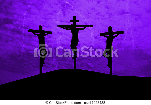 Jesus Christ crucified - csp17923438