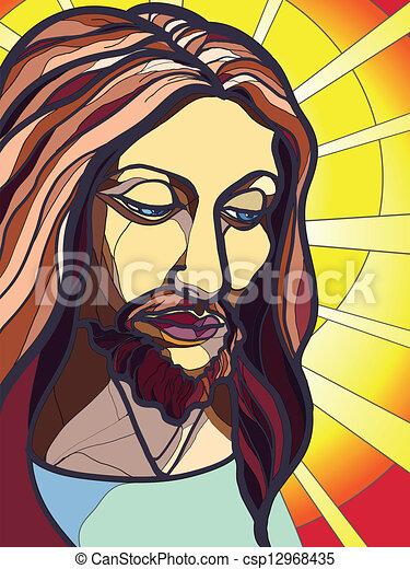 Jesus Christ - csp12968435
