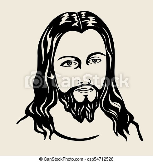 jesus christ art vector design vector illustration search clipart rh canstockphoto com jesus christ clip art free jesus christ clipart images
