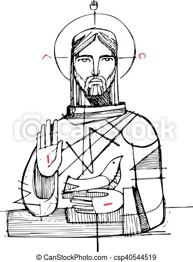 Jesus Christ in Holy Trinity