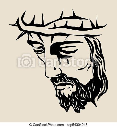 Jesus Christ Sketch Drawing