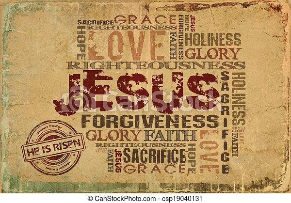 Jesus He is risen - csp19040131