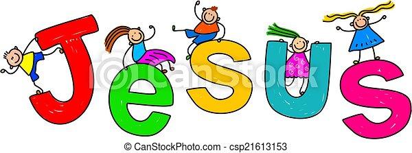 Jesus Kids - csp21613153