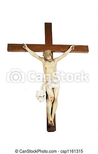 Jesus on the cross - csp1161315