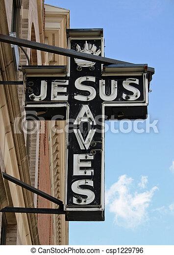 Jesus Sign - csp1229796