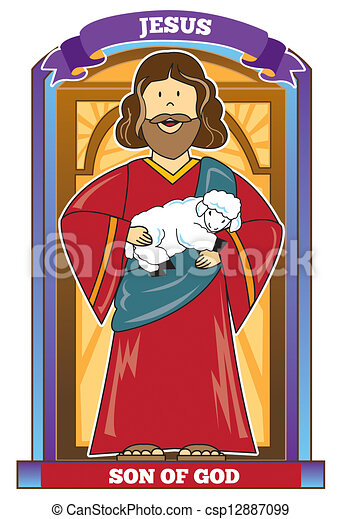 jesus son of god bible character jesus son of god holding baby rh canstockphoto com bible character clipart free bible character clipart for sale