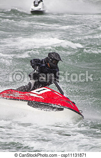jet boat racing - csp11131871