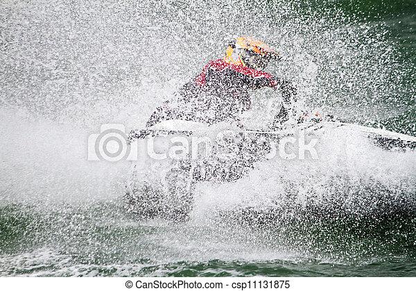 jet boat racing - csp11131875