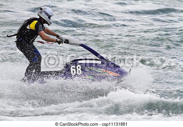 jet boat racing - csp11131881