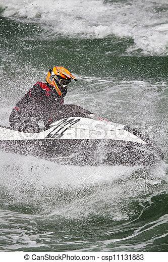 jet boat racing - csp11131883