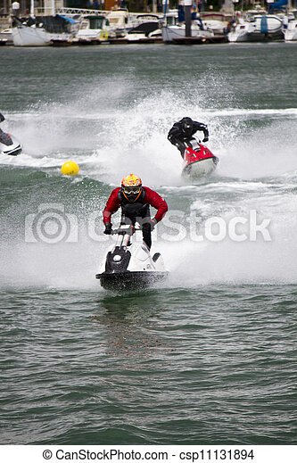 jet boat racing - csp11131894