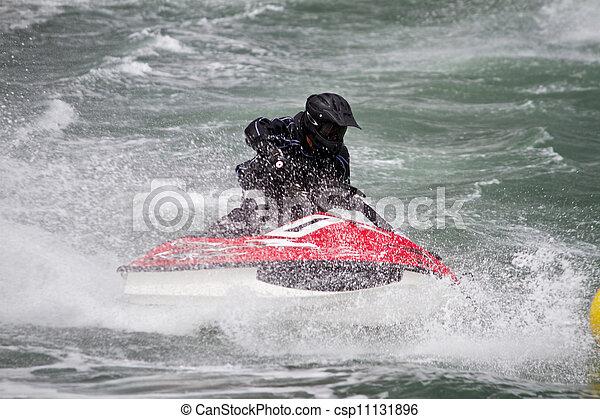 jet boat racing - csp11131896