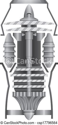 Jet Engine - csp17796564