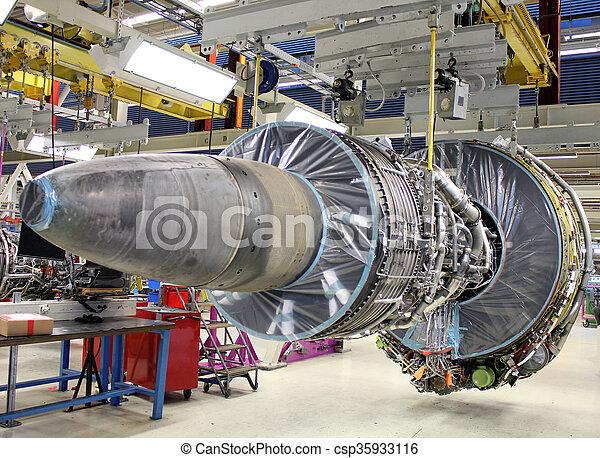 jet engine - csp35933116