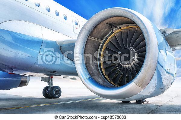 jet engine - csp48578683