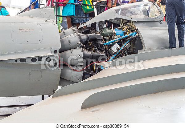 Jet Engine - csp30389154
