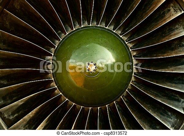 Jet Engine - csp8313572