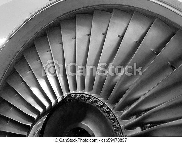 Jet engine - csp59478837