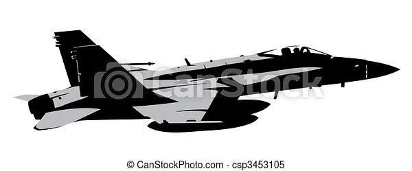 Jet fighter - csp3453105