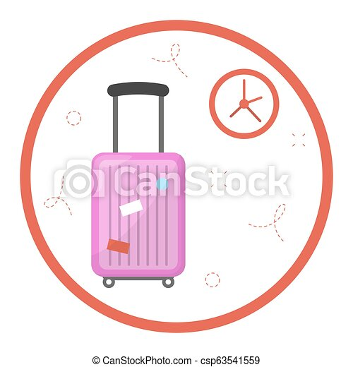 Jet lag problem after travel in different time zone - csp63541559