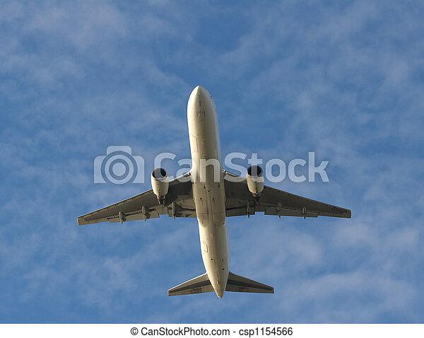 Jet Overhead - csp1154566