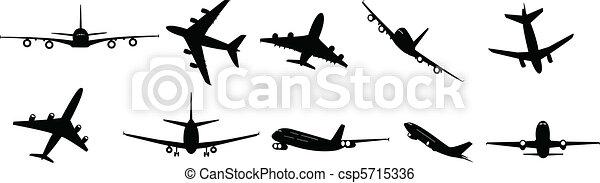 jet, passeggero - csp5715336