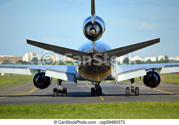 Jet plane - csp59480373