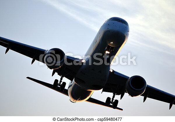 Jet plane - csp59480477