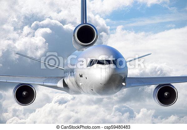 Jet plane - csp59480483