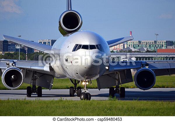 Jet plane - csp59480453