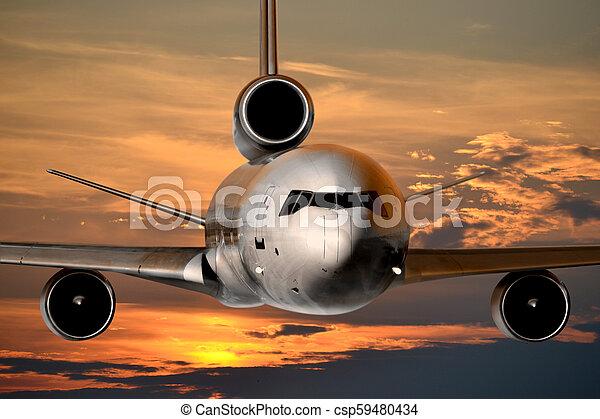 Jet plane - csp59480434