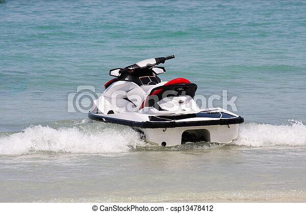 jet, scooter, eau océan, thaïlande, ski, ou - csp13478412