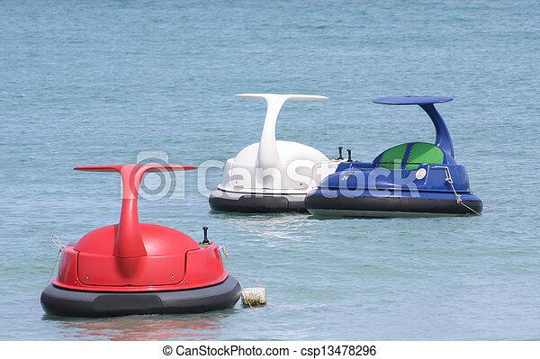 jet, thalland, scooter, eau océan, ski, ou - csp13478296
