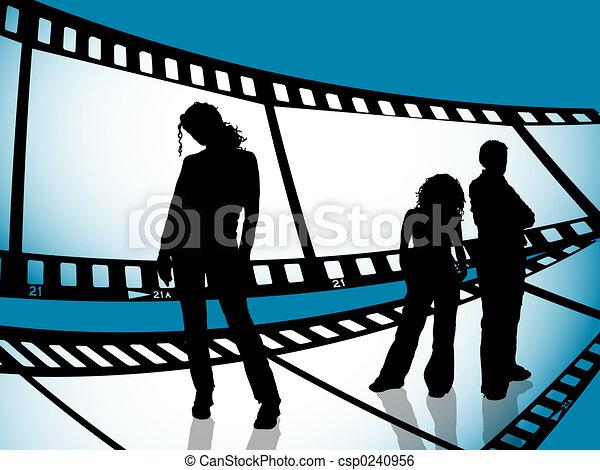 jeunesse, bande film - csp0240956