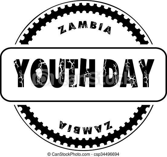 jeunesse, zambie, jour - csp34496694
