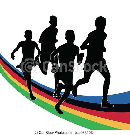 jeux olympiques - csp9381084