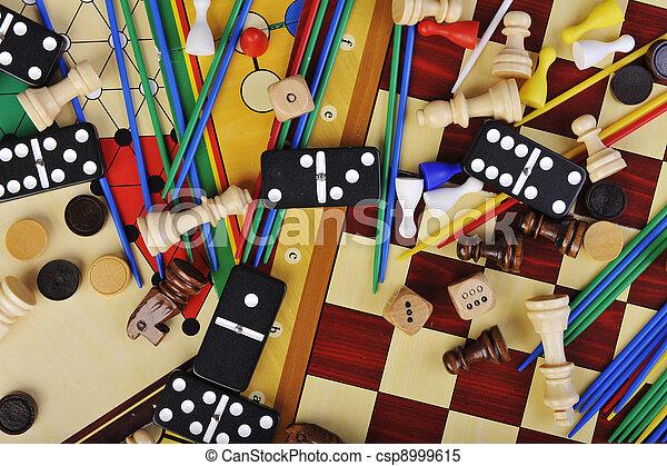 jeux, planche - csp8999615